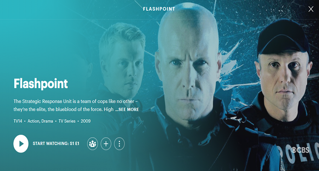 Best TV Shows on Hulu - Flashpoint
